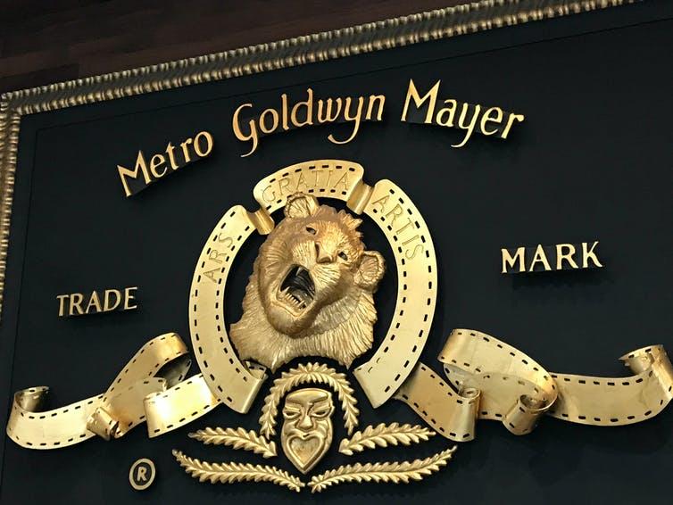 Logo de MGM avec le lion rugissant